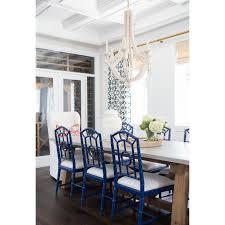 Chloe Mccarthy Interior Designer Bungalow 5 Chloe Navy Side Dining Chairs Set Of 6 Image