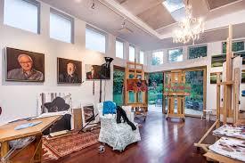 modern art for office. San Francisco Bay Area Artist Studio Modern-home-office Modern Art For Office T