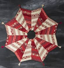 Quilted Christmas Tree Skirt Pattern Awesome Decorating Design