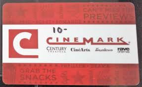 10 cinemark gift card for s 1 of 1 see more