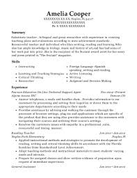 Best Technology Teacher Resumes Resumehelp