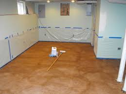 cozy with concrete stain on concrete basement floor stained concrete basement floor diy
