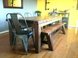 diy farmhouse dining table bench kitchen and build farm with benches architectures adorable tabl