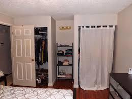 how to block a doorway without a door closet door alternatives home depot closet