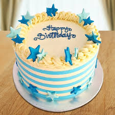 Send Star Design Birthday Cake Online By Giftjaipur In Rajasthan