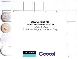 corning silicone colours to see colour card dow 795 sealant color chart