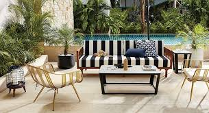 cb2 outdoor furniture. black and white tropez cb2 outdoor furniture