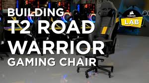 Corsair t2 road warrior and t1 race gaming chairs T2 Road Warrior Gaming Chair Black Black