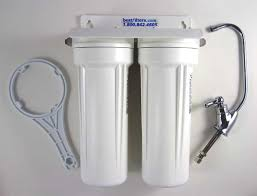 under sink water filter by bestffilters two stage water filtration system for munil water supplies replaceable filters and added cyst and pathogen