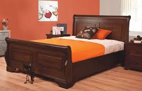 Sweet Dreams Jackdaw 5ft Kingsize Mahogany Bed Frame by Sweet Dreams