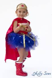 Wonder Woman Costume Pattern Inspiration Wonder Woman Costume Pattern For Kids A Modern Thread Pinterest