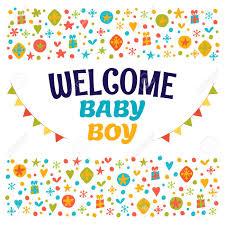 baby postcard welcome baby boy baby boy shower card baby boy arrival postcard