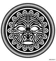 Fotografie Obraz Polynesian Tattoo Posterscz