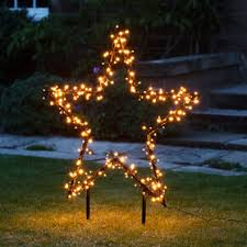 Inspiring marquee signs ideas christmas decoration Lights 1m Christmas Star Stake Light City Farmhouse Outdoor Christmas Decorations Lights4funcouk