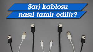 Şarj Kablosu Tamiri Nasıl Yapılır? (Eskisinden sağlam oldu) - YouTube