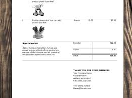 Simple Invoice And Estimate Template Rumble Design Store
