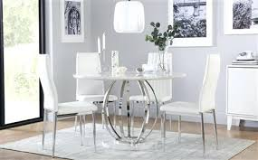white marble dining table singapore faux round