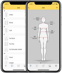 Costume Measurement Sheet Template Dress Measurement Custom Clothing Measurements On Your Phone