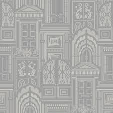 Contemporary Wallpaper Designs Uk Opening Doors Designer Wallpaper Ash
