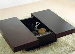 coffee table with sliding top storage coffee table with storage sliding top image and description bayside