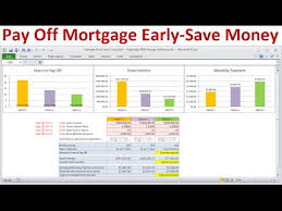 Pay Off Mortgage Early And Save Money On Interest Calculate Savings