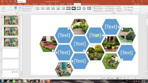 photo collage template powerpoint how to create collage of photos in seconds in powerpoint 2016 youtube