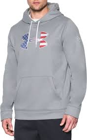 under armour zip up. under armour men\u0027s big flag logo fleece hoodie zip up