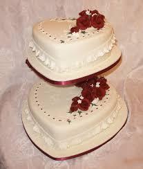 Heart Shaped Wedding Cake Designs