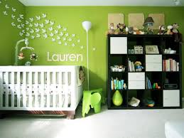 green nursery furniture. Cheerful Green Nursery With Whimsical Wall Art Furniture R