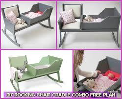 diy baby furniture. DIY Rocking Chair Cradle Combo Free Plan -Baby Tutorial Diy Baby Furniture