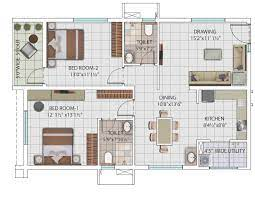 2 bhk 1314 sq ft apartment for