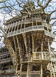 The Best Tree House Ever  YouTubeLargest Treehouse In America