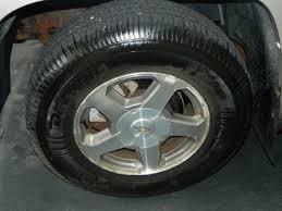 trailblazer tire size 2004 used chevrolet trailblazer 2004 chevrolet trailblazer ls 4wd