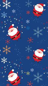 Santa Claus Pattern Iphone 5s Wallpaper Download Iphone
