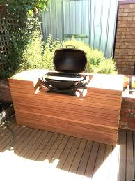 outdoor grill prep table best for all your station cart plans woodworking