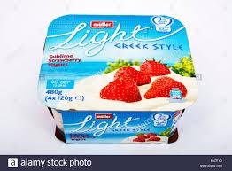 Muller Light Yogurt Tesco Strawberry Yogurts Stock Photos Strawberry Yogurts Stock