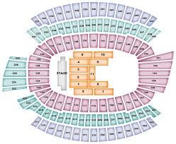 Paul Brown Stadium Cincinnati Oh Seating Chart View