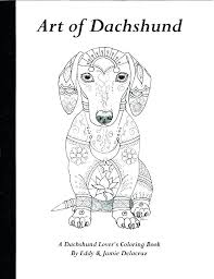 Dachshund Coloring Pages Dachshund Coloring Page Pages Dog Cartoon