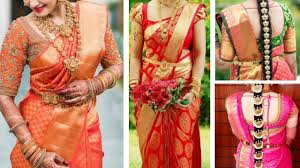 South Indian Blouse Neck Design South Indian Bridal Blouse Neck Designs Top 30 Bridal Blouse Design Collections For Silk Saree