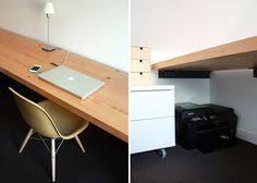 diy floating desk diy home. Wood Floating Desk Using Steel Angles Via Chezerbey.com Diy Home D