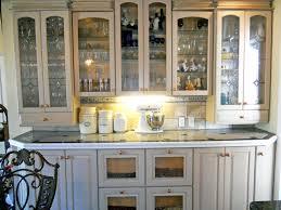 white kitchen hutch cabinet remodel