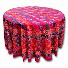 dark purple round tablecloths beautiful handmade cotton hand block