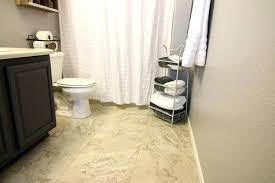 diy bathroom floor transform a boring bathroom with beautiful vinyl tile diy bathroom tile floor removal