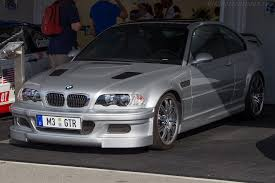 2002 BMW M3 GTR Strabenversion
