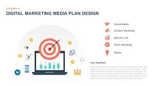Digital Marketing Media Plan Template For Powerpoint Keynote