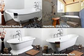 types of bathtubs freestanding bath how many types exist home improvements tips