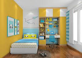 yellow bedroom wall