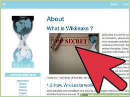 ways to submit a leak to wikileaks wikihow image titled submit a leak to wikileaks step 1