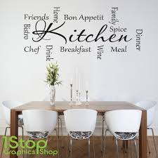 kitchen wall stickers quotes uk personalised kitchen