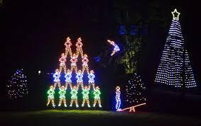 Ogilby Park Christmas Lights Wv Travel Team Oglebay Light Show An Experience For Which